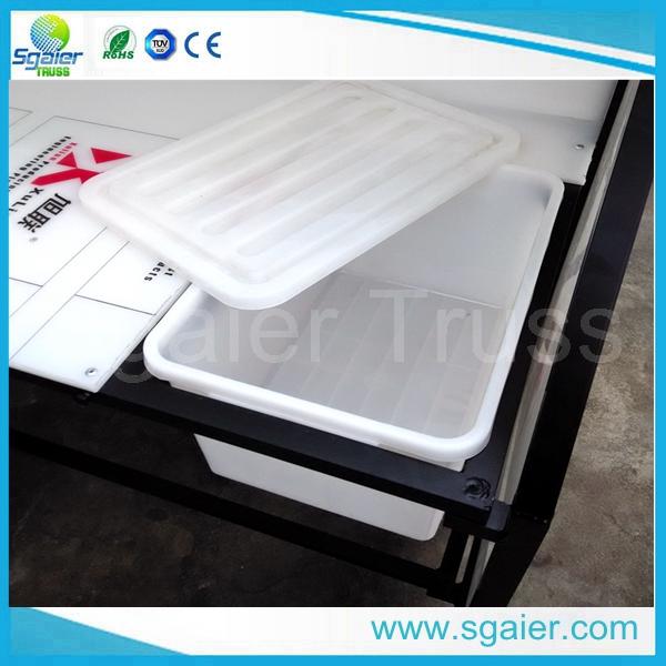 New Design Portable Bar Table DJ Bar Counter Folding Portable Table