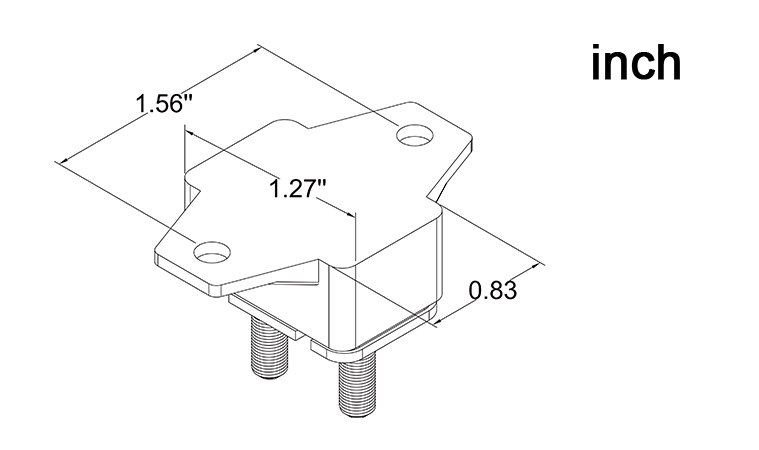 e517 songtang e517 stud type circuit breaker shortstop miniature circuit breakers  24vdc