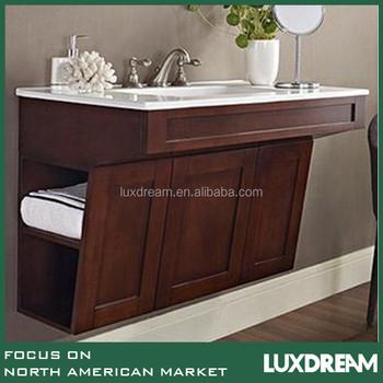 Ada Bathroom Vanity Hotel Wooden Base Vanity With Single Sink Buy