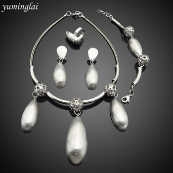 silver jewelry set with cheap price