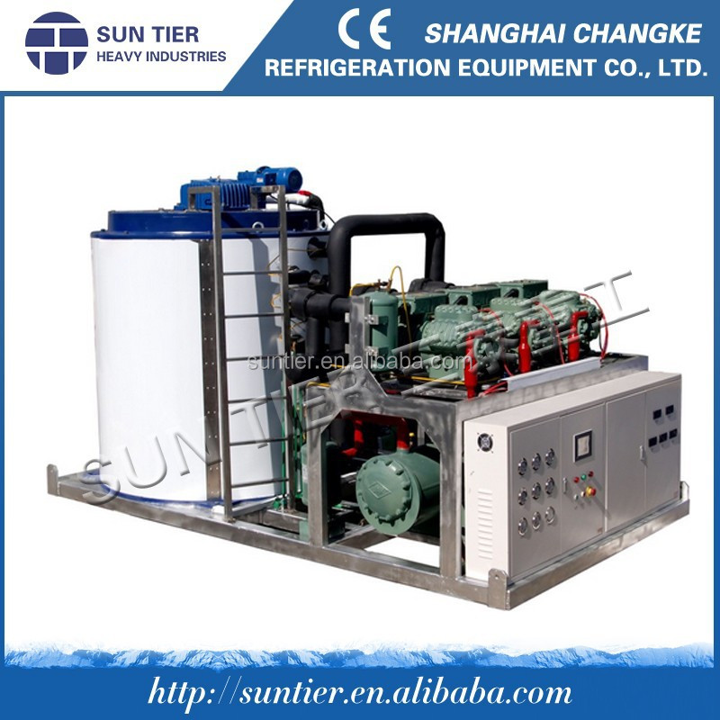 5ton ice flaker for concrete cooling system|2014 flake ice making machine for tuna fishing vessels for sale fishing