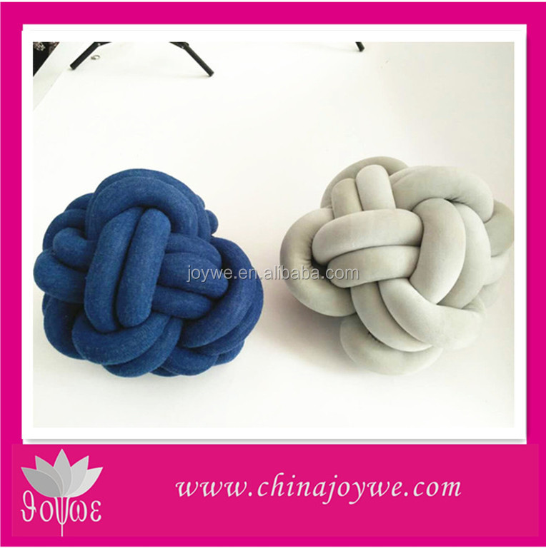 Hot selling OEM creative pillow knot pillow sofa backrest pillows