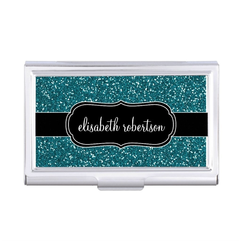 Cheap card holder personalized find card holder personalized deals get quotations teddyque business card holder case trendy personalized business card holder elegant womens business card holder colourmoves