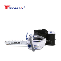 ZOMAX ZMDC502 12inch 58V brushless Lithium - Ion battery powered cordless top handle chain saw with 4.0AH battery