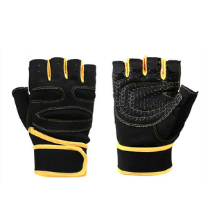 Sport Half Finger Custom Breathable Cycling Gloves