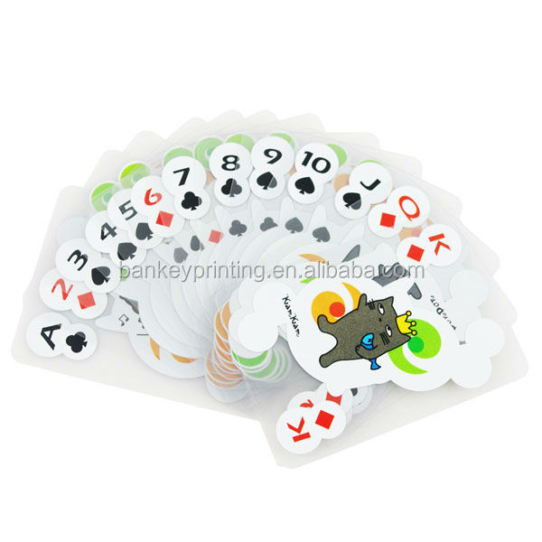 High Quality PVC Transparent Playing Cards