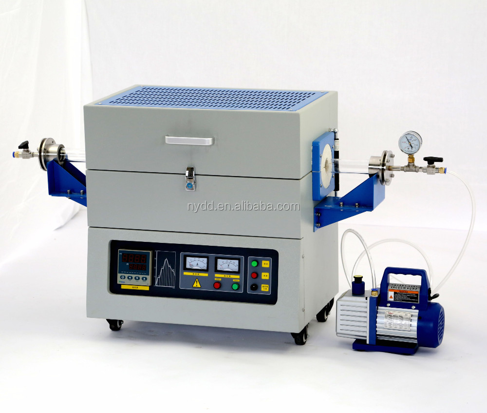 1200 PID Auto Control CVD Vacuum Quartz Tube Furnace for Heating Equipment