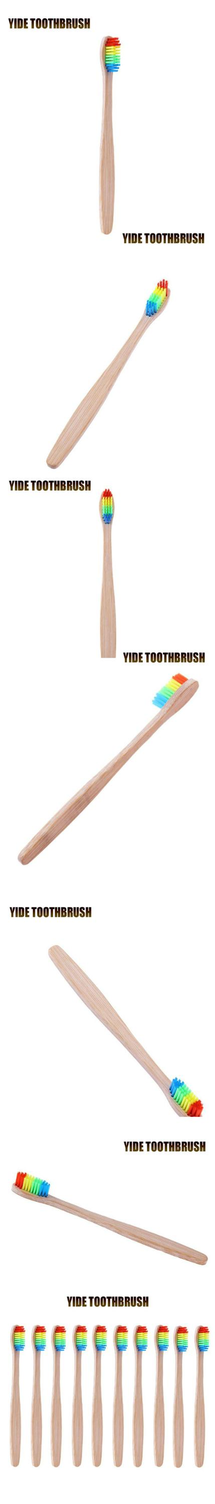 Free Sample OEM 100% Biodegradable Wholesale Organic Eco Bamboo Toothbrush