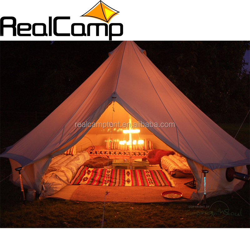 5m glamping luxury portable canvas bell <strong>tent</strong> tipi <strong>tent</strong> custom canvas <strong>tent</strong>