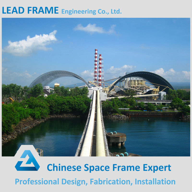 Light Steel Frame Structure For Arch Coal Storage