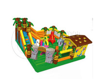 giant inflatable kids playground toys, inflatable fun city
