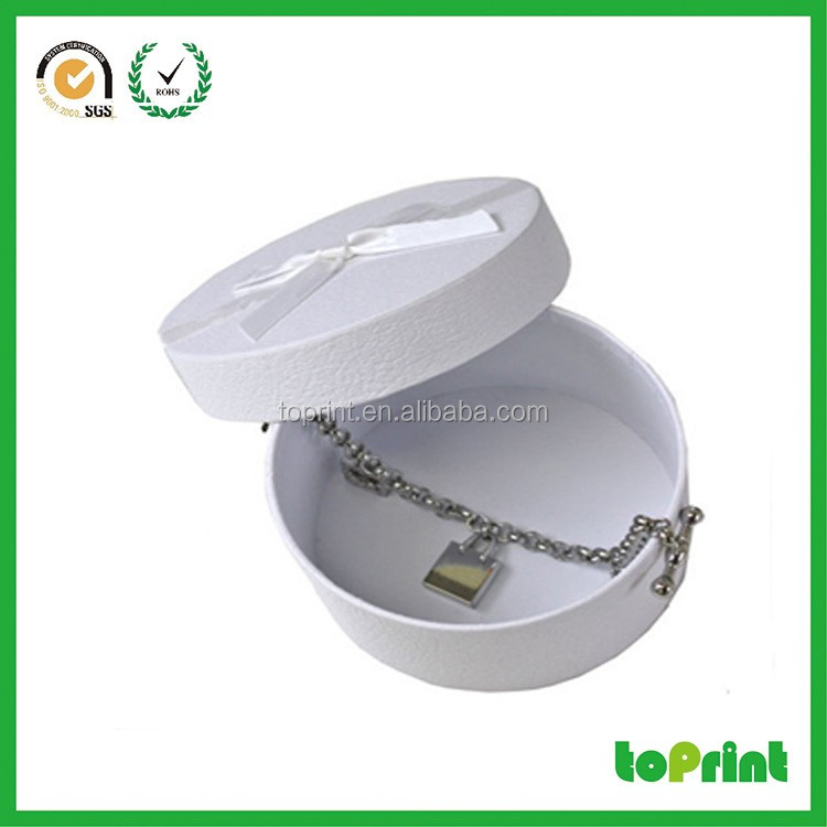 Jewelry box for necklace pendant earring bracelet display storage box case