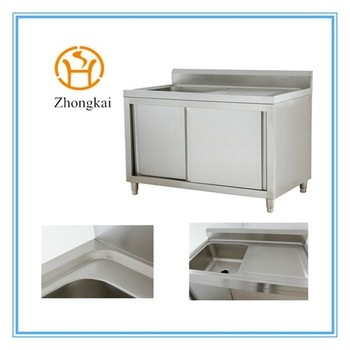 stainless steel kitchen sink cabinet buy wholesale stainless steel