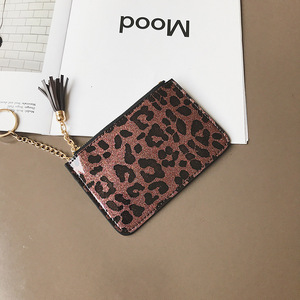 Wholesale Newest Design Cheap High Quality Lady PU Leather Zipper Money Coin Purse Girls Wallet