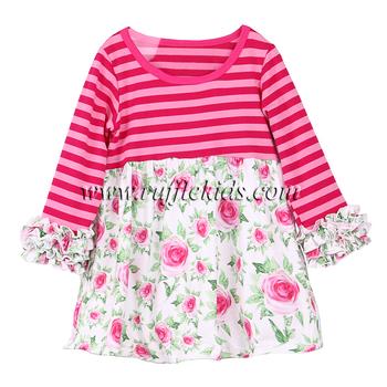 161097d93 Smocked children clothing wholesale baby ruffle dress girls kids frock  designs