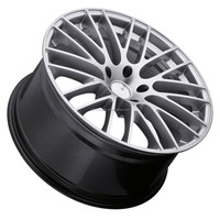 New design factory direct price negative offset alloy wheels