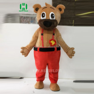 Custom mascot costumes china factory make your design animal carton character teddy bear mascot