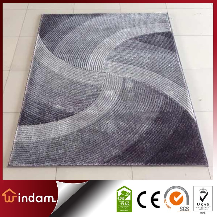 Factory price quality 100% Polyester Shaggy Area Carpet