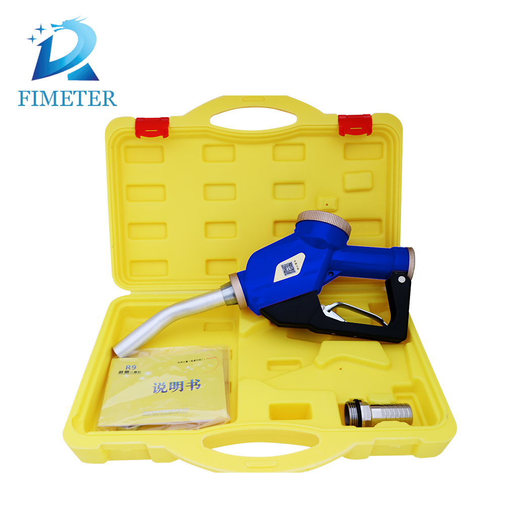 hot sale fuel dispenser gun with meter for motor vehicle