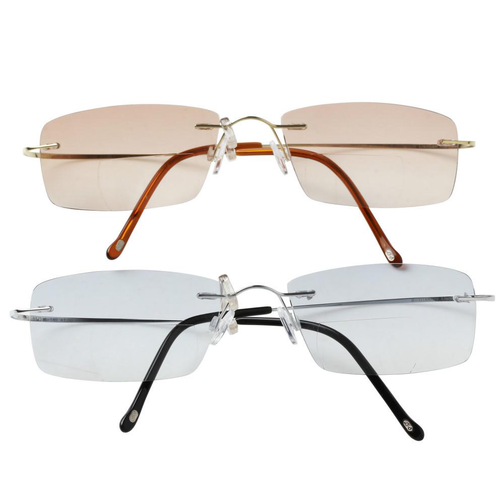 5d5b309638 Titanium Rimless Reading Glasses Uk