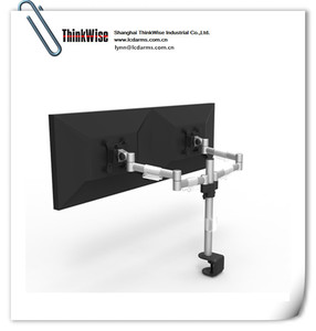ThinkWise M200 dual monitor holder computer table arm support