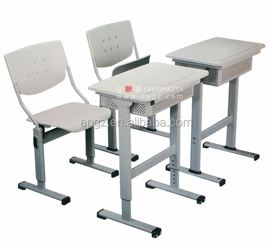 Height Adjustable Desk And Chair Discount School Furniture Classroom  Furniture