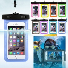 High Quality hot selling pvc mobile phone waterproof swim bag , waterproof phone pouch belt