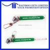 Hot selling cheap promotional logo printed pen shape low pressure tire gauge with keychain