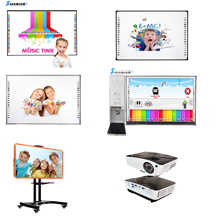 Multi-touch interactieve touch screen monitor LCD interactieve whiteboard smart board TV alles in een