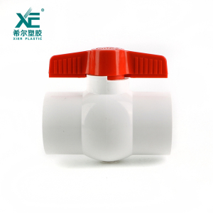 Free sample professional OEM support PVC compact ball valve