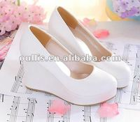 ladies shoes 2013 white wedding shoes wedges shoes WZXA21