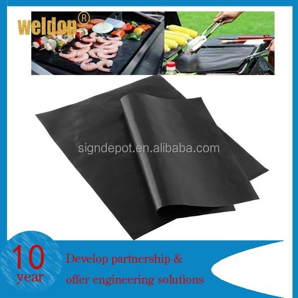 BBQ grill mats Perfect for Grilling Ribs, Shrimps, Steaks, Burgers and Vegetables