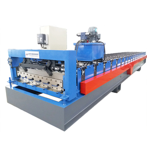 YX 820 Colored Glaze Steel Metal Sheet Cold Roll Forming Machine For Roof and Wall Panel