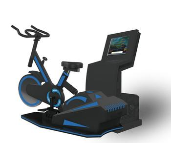 Arcade 9d Cinema Simulator Vr Bike Fitness Games Virtual Reality Bicycle  Rides - Buy Vr Bike,Simulator Vr,Vr Bicycle Product on Alibaba com