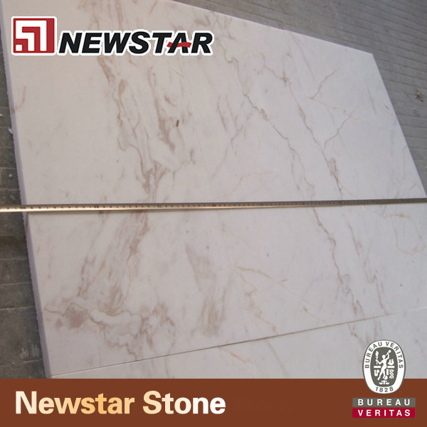 600x600 Polished Marble Tiles Greece Volakas Drama White Marble