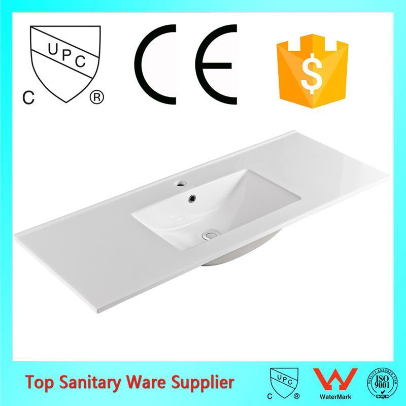 one piece bao de cermica de lavado lavabo y mostrador superior