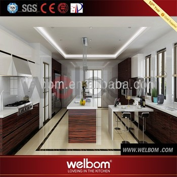 Cambodia Project Modern Lacquer Hotel Furniture Commercial Kitchen ...