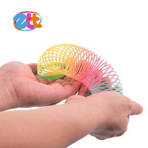 Promotional rainbow slinky spring toy