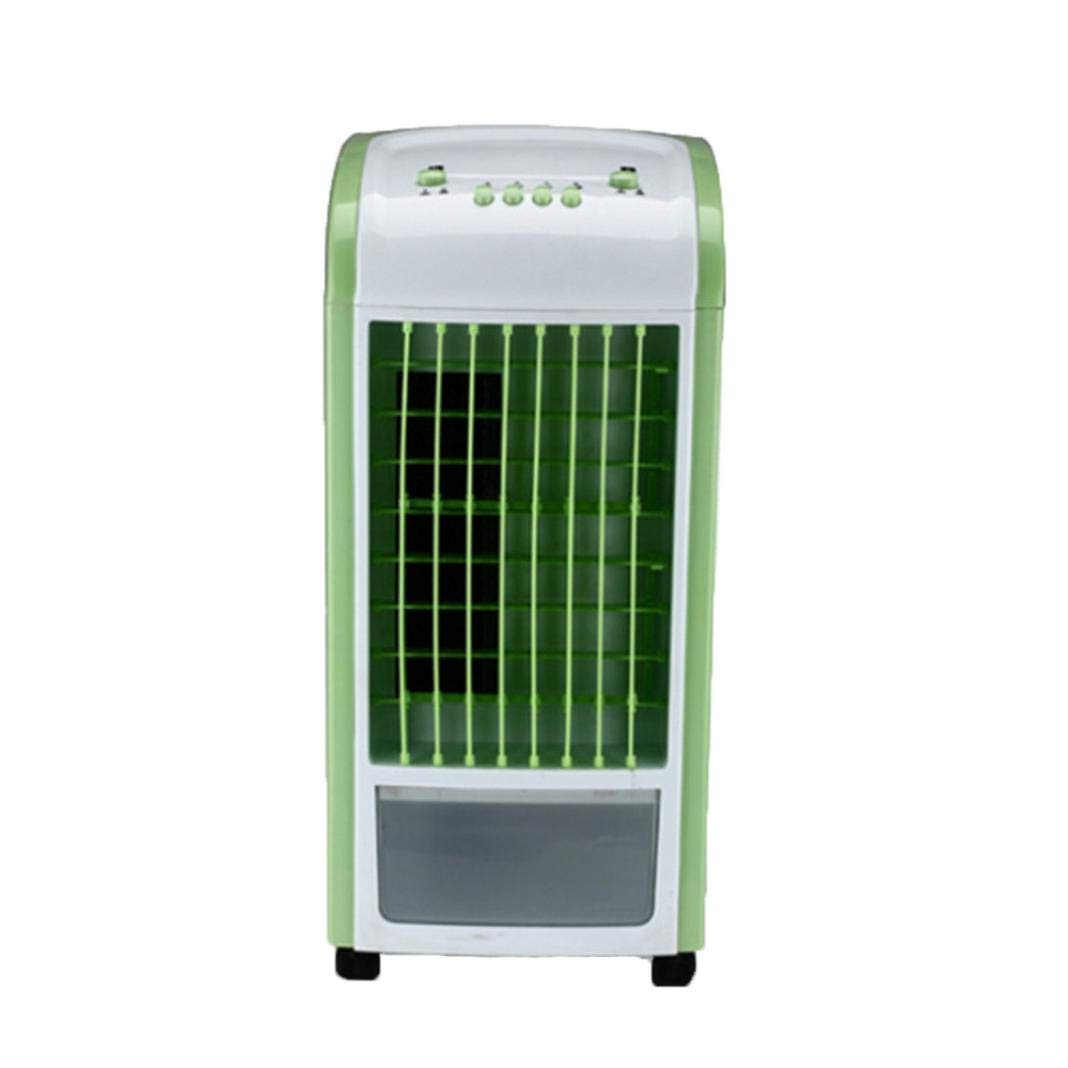 Creazy Air Cooler, 4 in 1 Air Conditioner Humidifier & Purifier Freshener Portable Mini Water Cooling Fan 3.5L Green With Remote Control (Green)