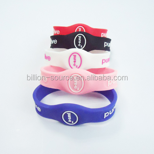 Custom Rubber Silicone Magnetic Bracelet/Magnet Therapy Silicone Bracelet