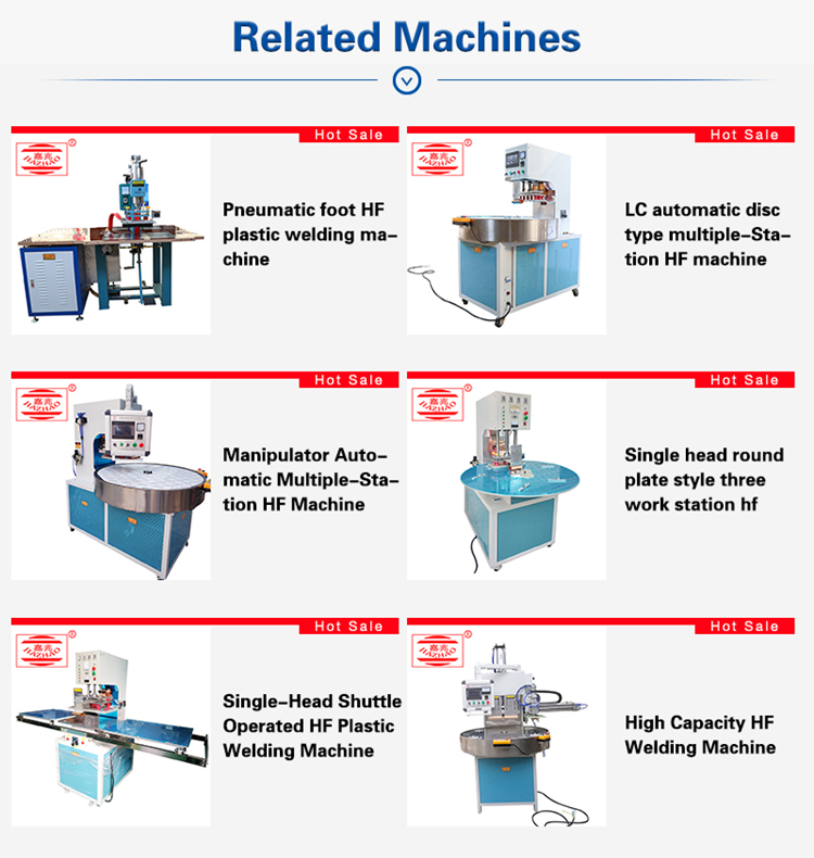 Automatic embossing high frequency medical sealing  urine bag blister pack welding machine