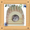 natural modern outdoor hamster cage/wooden hamsters hotel
