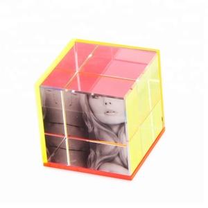 Acrylic Cube Frame Photo Frame Wholesale Photo Frame Suppliers