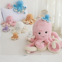 Wholesale hot sale Customized Plush cartoon Octopus cute plush Octopus Stuffed Plush Animal Toys