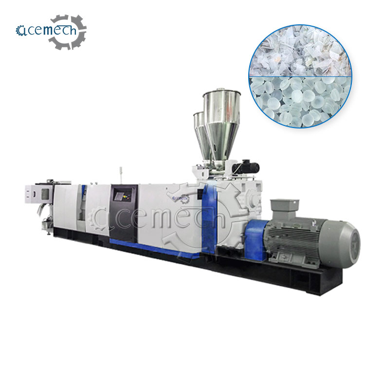 waste pelletizing recycling granulator machine for recycling pp pe abs ps scraps