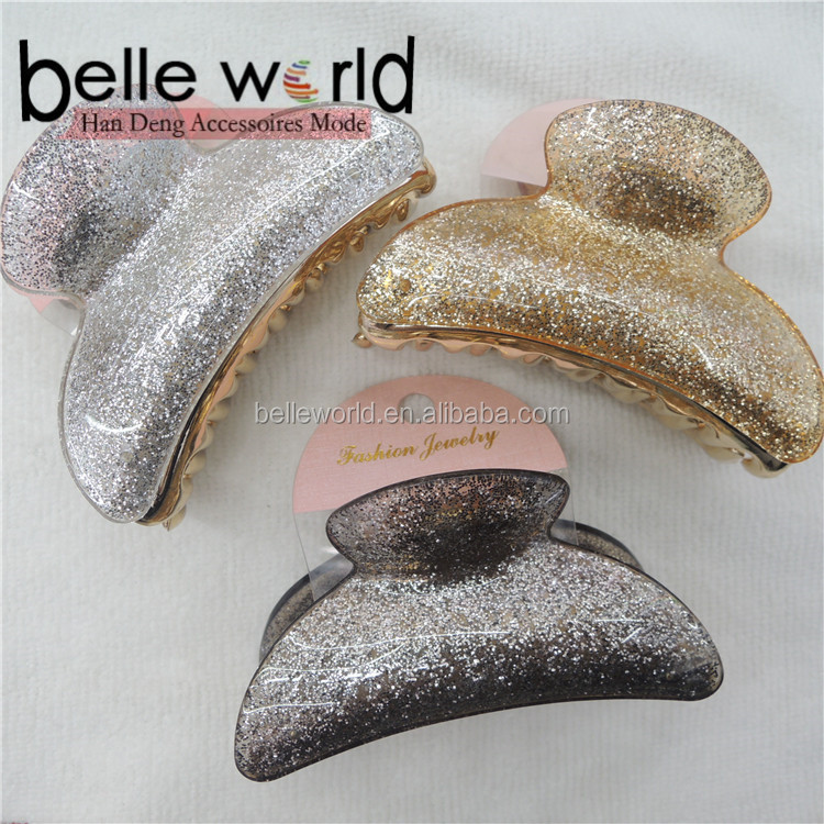 hot Fashion Gold, silver brown Hair Claws Wholesale