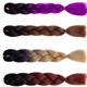 Wholesale 82inch 165g Ombre Color Jumbo Soft N Silky Afro Kinky Twist Zizi Braid