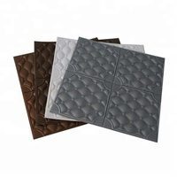 Getting Free samples 10mm brick design 3d PE foam leather wall sticker panel for kid bedroom