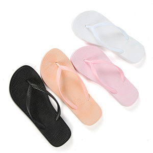 Hot selling printed size comfortable style rubber unisex personalized slippers wedding flip flops