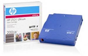 Wholesale CASE of 5 - HP LTO-Ultrium Data Cartridge-Ultrium Data Cartridge, 100GB/200GB, 20-40MB/Sec.
